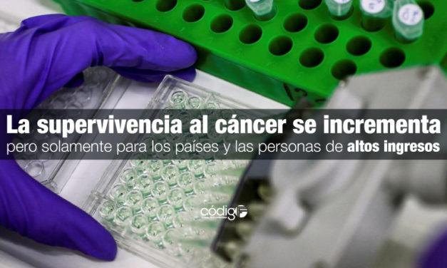 La supervivencia al cáncer se incrementa, pero solamente para los países y las personas de altos ingresos