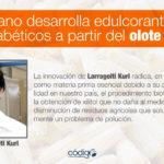 Mexicano desarrolla edulcorante apto para diabéticos a partir del olote de maíz.