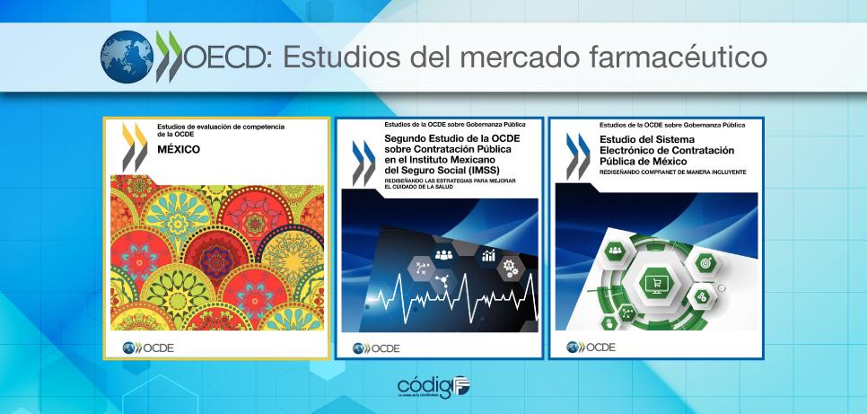 Presenta la OCDE estudios del mercado farmacéutico