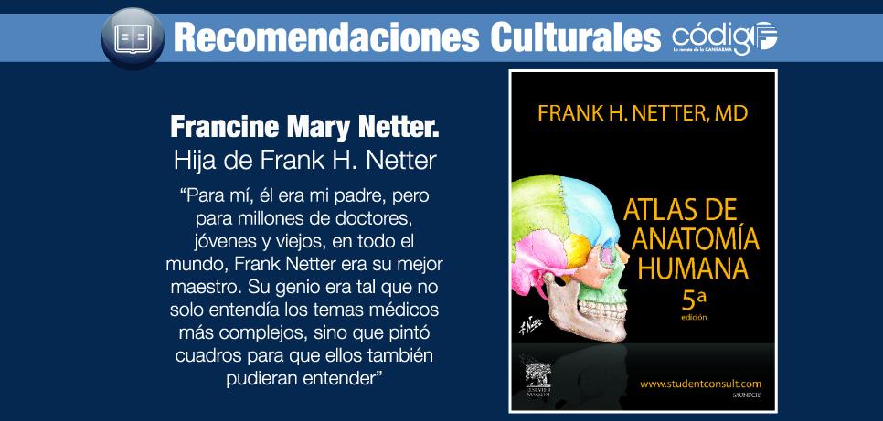 Atlas de la Anatomía Humana | Recomendación Literaria | Código F
